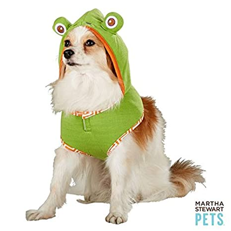 41TGsbX40OL._SX466_ amazon com martha stewart pets frog hoodie harness halloween dog