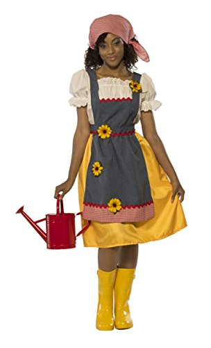 Rubie's Costume Co Women's Farmer's Wife Costume, As Shown, Standard]()