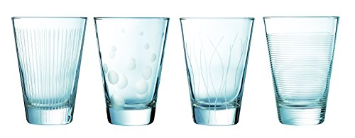Luminarc 16007 Serie Lounge Club, Whiskyglas 30 cl Set 4 teilig