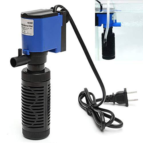 6W 500L / H 220V sumergible interna del filtro de agua en spray acuario de la bomba del tanque de peces