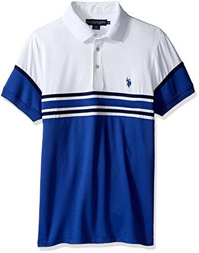 U.S. POLO ASSN Men's Striped Short Sleeve Classic Fit Int...