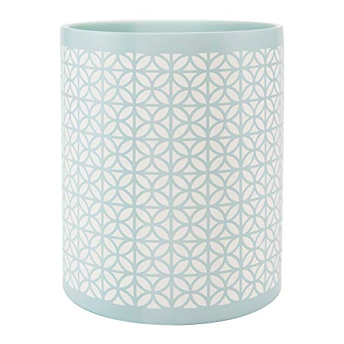Allure Home Creations Felix Wastebasket, Aqua