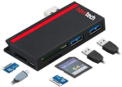 Navitech 2 in 1 Laptop//Tablet USB 3.0//2.0 HUB Adapter//Micro USB Input with SD//Micro SD Card Reader Compatible with The LG Gram 14 14Z90N