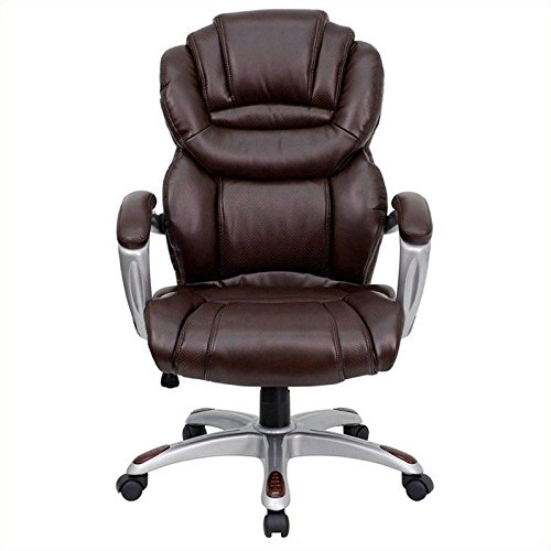 flash-furniture-go-901-bn-gg-high-back-brown-leather-executive-office-chair-with-padded-loop-arms