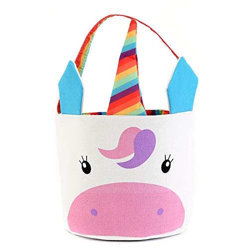 Unicorn Easter Basket Canvas