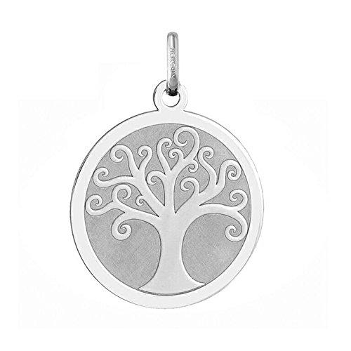 FÉÉRIQUE - Médaille Arbre de Vie - Or 18 carat - Hauteur: 20 mm - www.diamants-perles.com