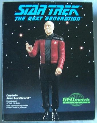 Star Trek Captain Jean Luc Picard Vinyl Model Kit