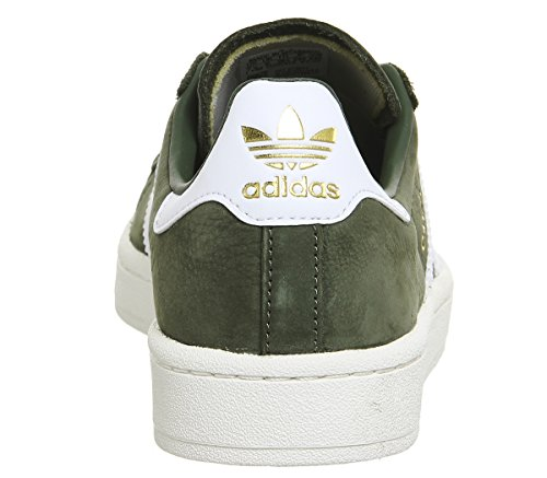 Adidas Damen Campus W Sneakers Grün (st Major F13 / Ftwr Bianco / Gesso Bianco)