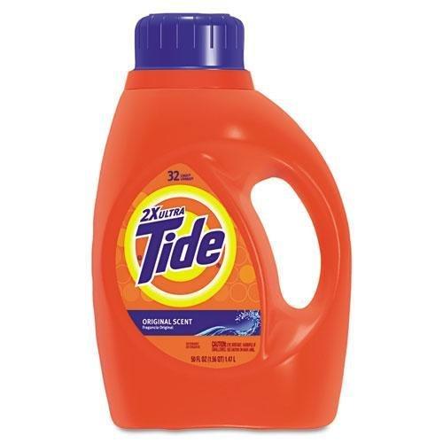 Tide 13878 CT ULTRA Liquid Tideランドリー洗剤、50ozボトル、6 /カートン B00CHU9UZC
