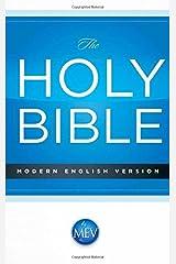 MEV Economy Bible: Modern English Version Paperback