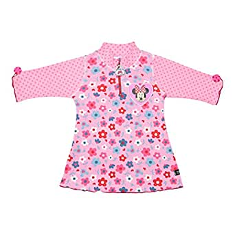 Disney Minnie Mouse 34-Mn7003 T-Shirt For Girls - 4 To 6 Years, Pink