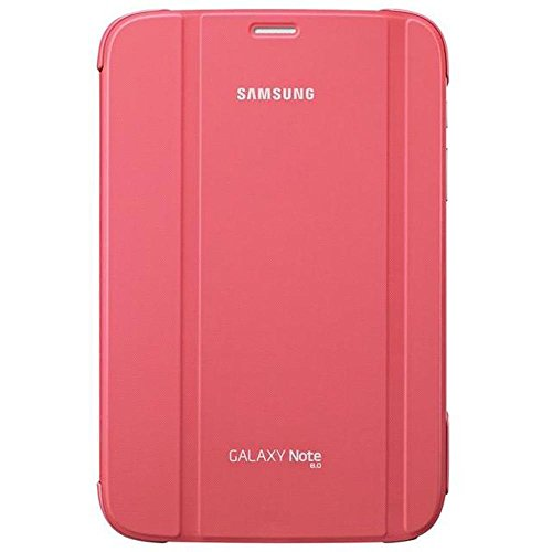 Samsung Book Cover Case for Galaxy Note 8.0 - Pink