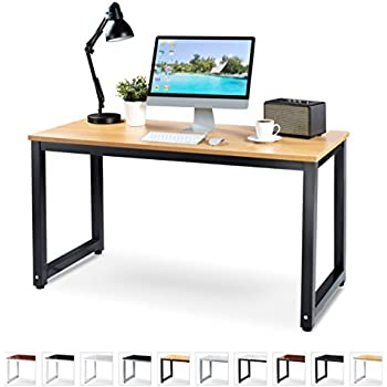 Amazon Com Office Computer Desk 55 X 23 Beige