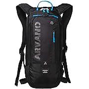 Arvano Bike Backpack Small Mountain Biking Daypack Cycling Hiking Bicycle Skiing Mtb Pack 6l