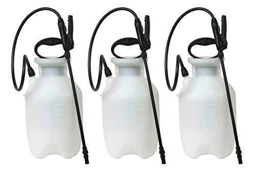 MNJDHCHG 20000 1-Gallon Poly Lawn, Garden, And Multi-Purpose Or Home Project Sprayer Great For Fertilizers, Weed Killers, And Common Household Cleaners, 1-Gallon (1 Sprayer/Package) 3 Pack