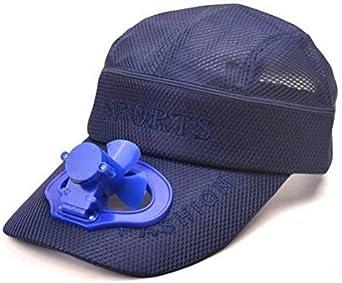 Sombrero con Ventilador, Desmontable De Doble Uso Sun Hat ...