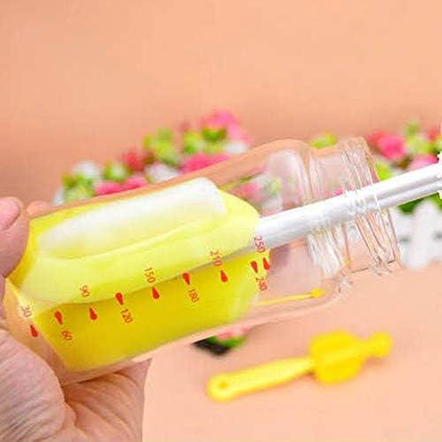 5Pcs Teapot Nozzle Spoutnylon Cleaningmilk Bottle Brush Nipple