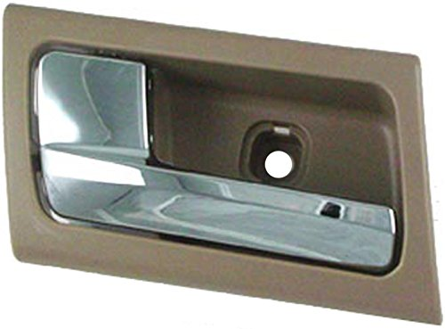 Dorman 81699 Ford Crown Victoria/Grand Marquis Front Driver Side Beige/Chrome Interior Replacement Door (Crown Victoria Front Door Handle)