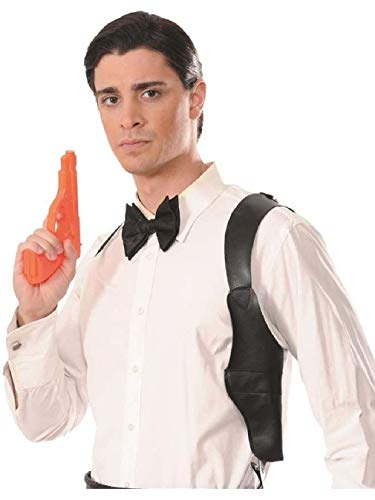Secret Agent Spy Shoulder Holster And Fake Toy Gun Costume Accessory
