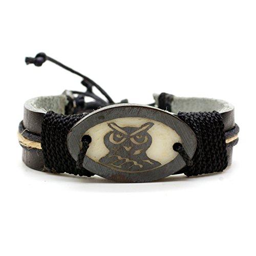 Natural Eco Friendly Tagua Leather Bracelet