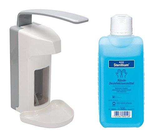 500 ml Wandspender Wandhalter + Zubehör Kauf nach Auswahl Sterillium Seife (Spender+Sterillium)