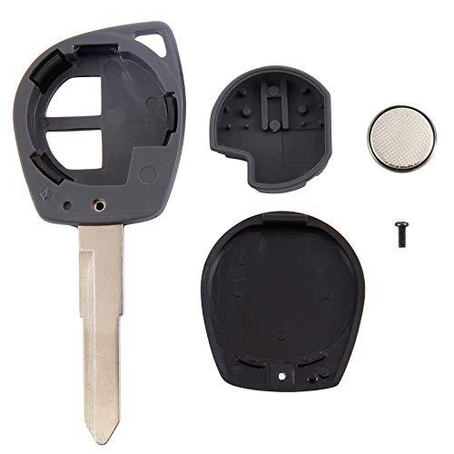 Behuizing met radiosleutel, 2 knoppen, reservebehuizing met 2 knoppen, beschermhoes met 2 knoppen en klapmes.