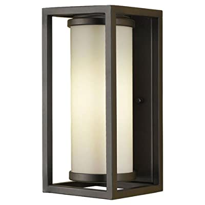 Feiss OLPL7000ORB 1-Bulb Outdoor Wall Lantern, Oil Rubbed Bronze Finish