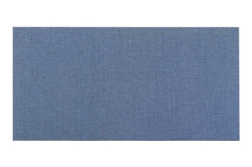 Vinyl Fabric Covered Bulletin Boards - Wrapped Edge - Square Cornered Color Code: Antique White-03, Size: 2' x 3'
