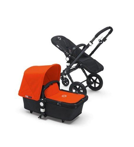Bugaboo Cameleon3 Complete Stroller - Orange - Black