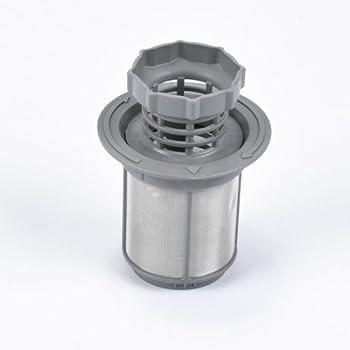 2 Part Dishwasher Mesh Filter Set Grey PP For Bosch Dishwasher 427903 170740 UX