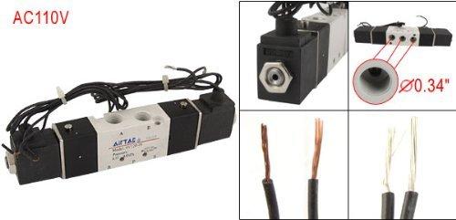 DealMux AC 110V 4V120-06 PT1 / 8 Inlet 2 Posição válvula solenóide