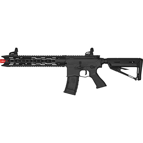 Series Rifle Airsoft Aeg - Valken ASL Series M4 Airsoft Rifle AEG 6mm Rifle - TRG - Black