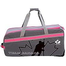 "Hockey Canada Womens 32"" Official Team Equipment Rolling Sports Duffel"