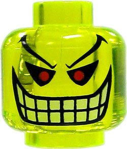 (LEGO Joker Bomb LOOSE Head Accessory- Lego)