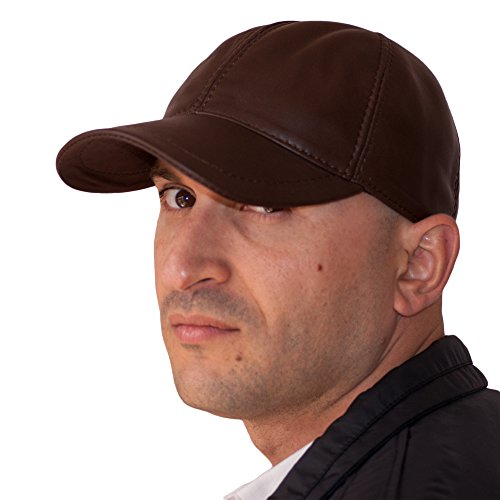 Mujer Planas Sombrero Dazoriginal Gorras Cuero MARRONLIGHT Gorra Boina Béisbol Piel Hombre Iqx40qzw