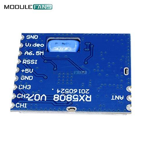 Fpv 5 8 G Wireless Audio Video Receiver Modul Für Boscam Rx5808 Frequency Phase Lock Analoge Av Signal Ausgabe 3 5 V 170ma Board Gewerbe Industrie Wissenschaft