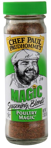 Chef Paul Prudhomme's Magic Seasoning Blends Poultry Magic -- 2 oz - 2 pc ()