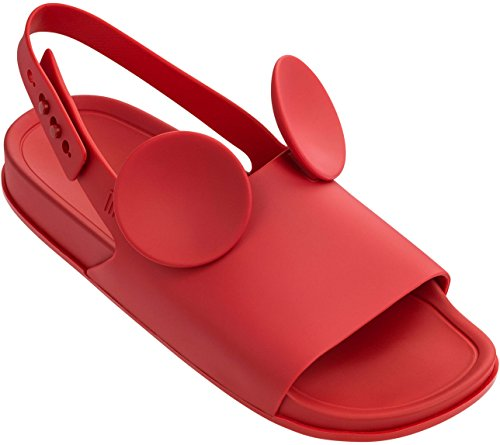 for cheap discount free shipping official site ILHABELA HOLDINGS INC. Melissa Womens Beach Slide Sandal + Disney Beach Slide Sandal Red outlet store sale online release dates cheap price Kyq1nf3