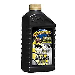 Spectro R.GMG25 GOLDEN/SEMI-SYNTHETIC MOTOR GUARD 20w50, 1 Quart