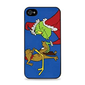 The Grinch Christmas Apple Phone Case Hard Case iPhone 6 (4.7 inch) i6 - Black -515 by runtopwell