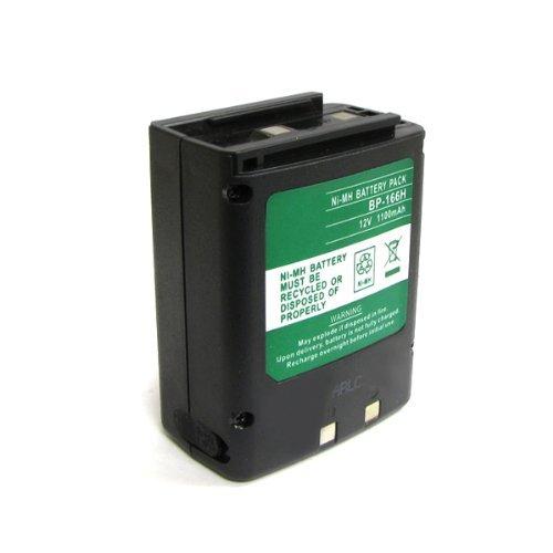 ExpertPower 12v 1100mAh NiMh High Capacity Two-way Radio Battery for Icom CM-166 IC-A3 IC-A3E IC-A22 IC-A22E (Icom Radio Parts)
