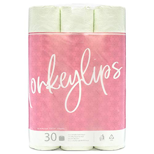 Monkeylips Green Tea Toilet Paper 30 Counts 3 Ply Sheets