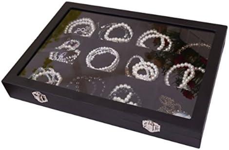 [スポンサー プロダクト]pipinowa(ピピノワ) 腕時計 ブレスレット ケース 腕輪 コレクション 収納 BOX ディスプレイ 12 区画