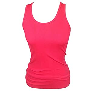 Under Armour Women Victory HeatGear Logo Tank Top (S, Coral)