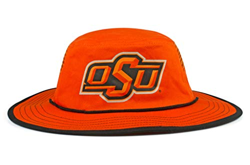 Cowbucker Collegiate Boonie Hat | Officially NCAA Licensed (One Size, Oklahoma State Cowboys Orange and Black)]()