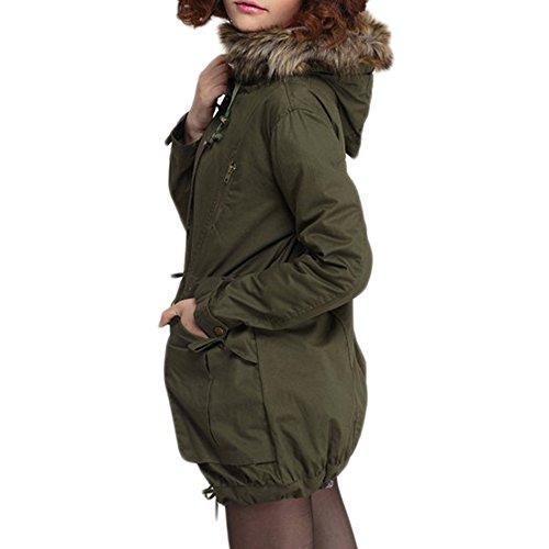 online store 060dc 488ab Bestfort Warm Mantel Damen Wolle Jacke Wintermantel mit ...
