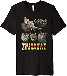 [Featured] Zimbabwe Big Five African Premium in ALL styles | Size S - 5XL