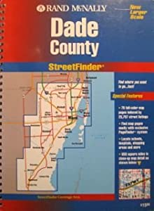 Paperback Rand McNally Streetfinder : Dade County, FL Book