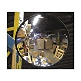 Vision Metalizers IC1800 Indoor Acrylic Convex Mirror, 18 L, 18 H by Vision Metalizers
