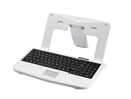 sharper-image-rta-sisk11-wht-white-laptop-stand-with-built-in-keyboard